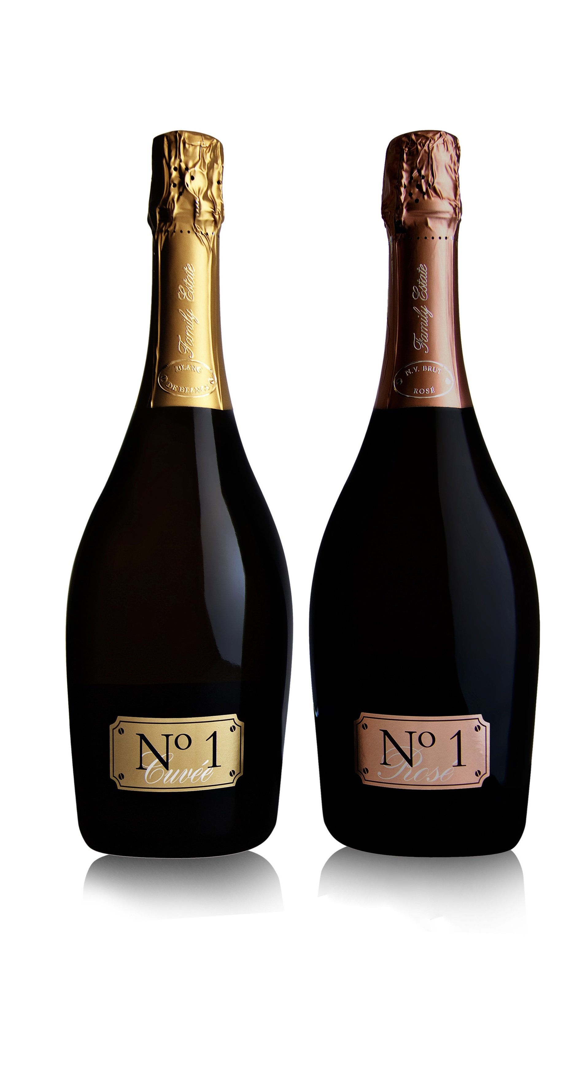 Photo of Two for One - No. 1 Rosé and No.1 Cuvée